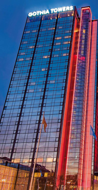 Gothia Towers, Gothenburg, Sweden